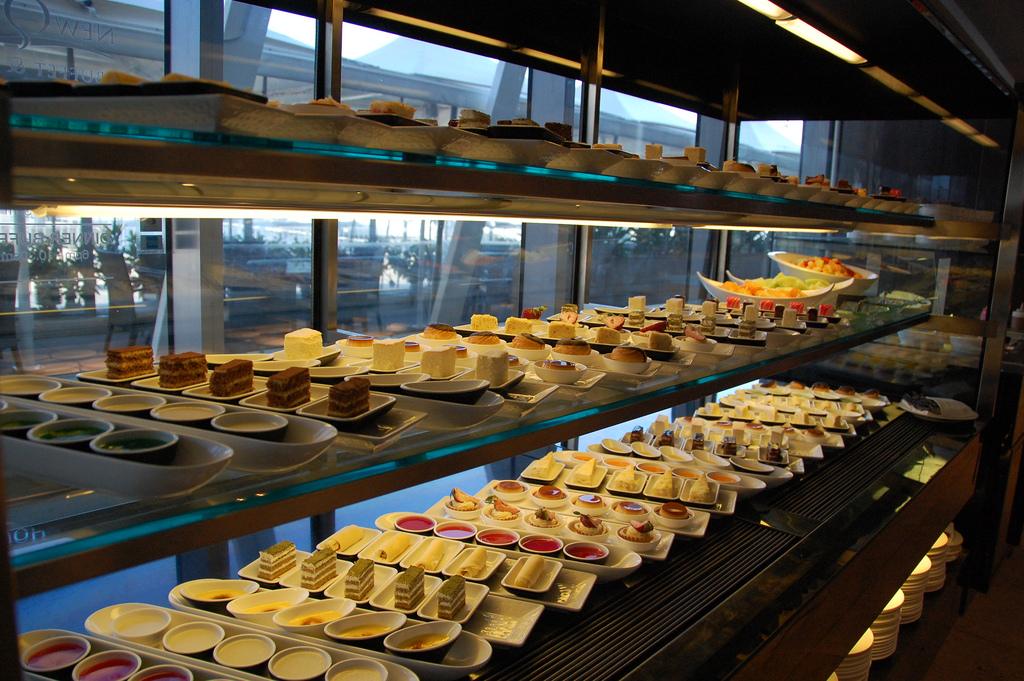 Cake Buffet Choice - soo many cakes
